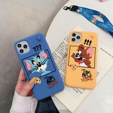 Cartoon Tom And Jerry Silicone Phone Case Cover For iPhone 11 Max XR X 7 8Plus 6