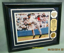 DEREK JETER GAME USED BAT PHOTOMINT, Very Limited Edition of 222, Highland Mint