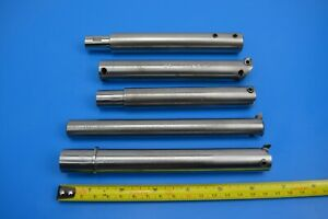 "Round Boring Bars for 1/4"" HSS bits. Straight shank toolholder x 5"
