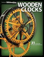 Wooden Clocks by Scroll Saw Woodworking & Crafts Magazine Paperback NEW Book