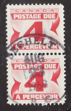Sc #J24 - Postage Due - CDS Sechelt BC - Canada - 4c - 1967 - Used -  VF
