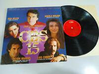 """CBS 16 Jose Luis Perales Victor Manuel Roberto Carlos - LP Vinilo 12"""" VG/VG"""