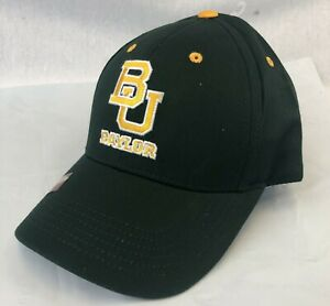 BAYLOR BEARS ADULT EMBROIDERED GREEN HAT CAP BY CAPTIVATING OSFM FREE SHIP