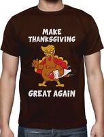 Make Thanksgiving Great Again Donald Trump Turkey T-Shirt Funny Gift
