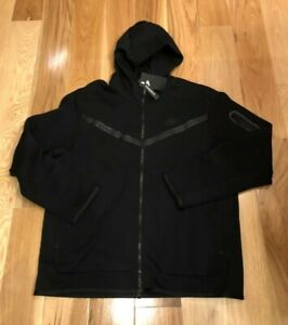 Nike Tech Fleece Windrunner Black CU4489 010 Men's SMALL ($130)