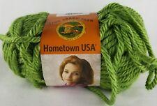 One Skein Lion Brand Yarns Hometown USA Oklahoma City Green #172 !!!