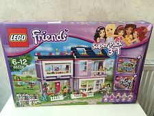 (NEW) LEGO Friends (66526) 3in1 Value Pack - contains sets 41091, 41095 & 41103