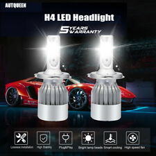 2x CREE H4 HB2 9003 LED Headlight Kit 9003 1500W Hi/Low Beam Bulb 6000K Light US