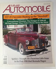 Dodge DeLuxe 1940 April 2001 Collectible Automobile Magazine