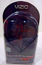 NEW - VIZIO 3D Glasses Theater Eyewear - 2 Pair OEM Vizio Passive 3D Glasses