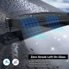 "FITS RENAULT TRAFIC MK2 2001-2014 FRONT PAIR AERO FLAT WIPER BLADES 24""21"""