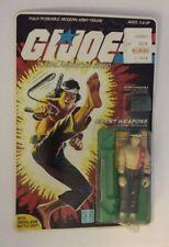 NEW! Vintage Carded GI Joe Quick Kick 34 Back! 1985! Unpunched! Unopened!