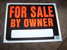 """SET OF 2 JUMBO For Sale by Owner 15"""" x 19"""" signs"""