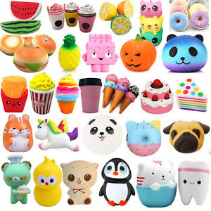 Jumbo Slow Rising Relax Scented Cute Squeeze Charm&Toy Collections Funny