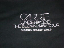 Carrie Underwood The Blown Away Tour 2013 Local Crew T-shirt