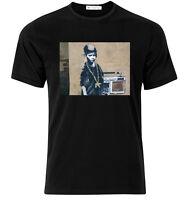 B Boy Banksy - Graphic Cotton T Shirt Short & Long Sleeve
