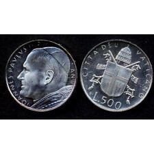 VATICANO Giovanni Paolo II 500 Lire AG 1980 FDC (UNC)