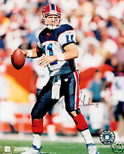 Drew Bledsoe New England Patriots SIGNED 8x10 Photo COA