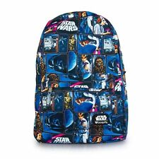 NWT Loungefly Star Wars Vintage Comic Print Backpack With Logo