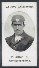 TADDY-COUNTY CRICKETERS CRICKET 1907- WORCESTERSHIRE - ARNOLD