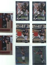 Lot of 8 2010 Demaryius Thomas Rookie Cards RC Jersey Denver Broncos Football
