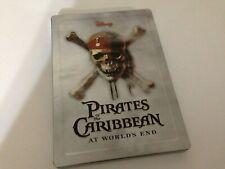 Pirates Of The Caribbean At World's End 2-DVD Disney Steelbook Set Region 1 NTSC