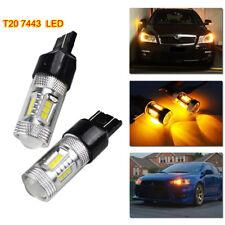 T20 7440 SAMSUNG LED Sidelight Indicator 15W Bulb Daytime Running W3×16d Amber