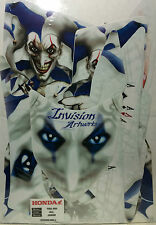 INVISION Graphic Decal Kit Clearance Sale For TRX 450R 04-14 Blue/White JOKER