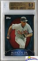 2010 Topps CHROME REFRACTOR Exclusive #WME2 Cal Ripken BGS 9.5 GEM MINT