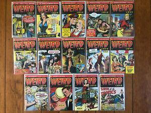 Weird Love #1-14 NM RUN - Pre-Code Golden Age Romance Reprints IDW 2014