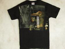 NWT New KORN Crow 2007 Metal Band Black Short Sleeve Cotton T-Shirt Mens Size S