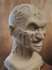 Freddy Krueger Bad Dream Stunt Mask  1   BLANK - NO PAINT