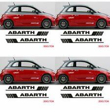 Fasce adesive Fiat 500 ABARTH 595 strisce laterali adesivi fiancate porte due pz