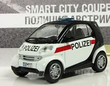 DeA 1:43 Smart City Coupe Austrian police serie Police cars of the world