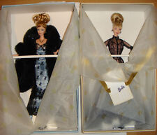 Barbie Nolan Miller Evening Illusion, Sheer Illusion 2 Dolls Set NRFB Limited ED
