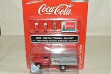 HO Classic Metal Works Coke Coca-Cola soda machine stake bed truck set 1955