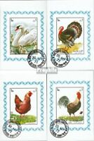 Sharjah block1190-block1193 (complete issue) used 1972 Birds