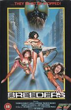 BREEDERS Movie POSTER Horror 80's VHS Art