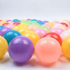 2016 500pcs Quality Baby Kid Pit Toy Swim Fun Colorful Soft Plastic Ocean Balls