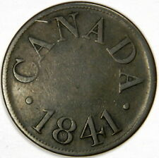 1841 CANADA ½ PENNY JAMES DUNCAN TOKEN - PRICED RIGHT!