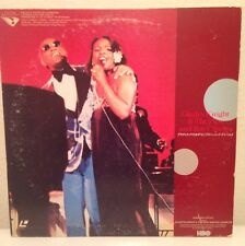 GLADYS KNIGHT & THE PIPS AND RAY CHARLES 1979 LOS ANGELES GREEK LASERDISC