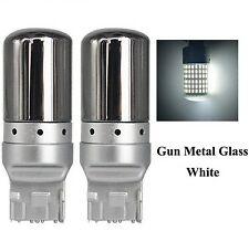 Ampoules LED T20 Chrome W21W 144 SMD Canbus Blanc feux de jour clignotants 7440
