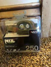 Petzl TACTIKKA + Camo PLUS HYBRID CONCEPT Headlamp 250 Lumens New!!