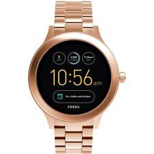 Fossil Q Gen 3 Venture Rose Tone Bracelet Touchscreen Smart Watch FTW6000