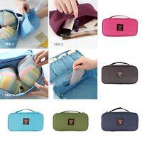 Women Portable Protect Bra Underwear Lingerie Case Travel Organizer Bag
