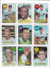 *1969 Topps 4th Series Baseball PICK LOT-YOU Pick any 2 of the 38 cards for $1!*