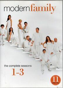 MODERN FAMILY. S1-2-3.  11 x R4 DVDs