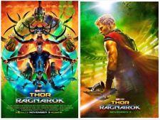 "MARVEL'S THOR RAGNAROK 13.5""x20"" D/S Original Promo Movie Poster MINT Hemsworth"