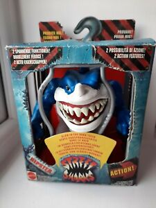 Vintage Mattel Street Sharks Ripster Action Figure 1994 Series 12254 Rare Boxed
