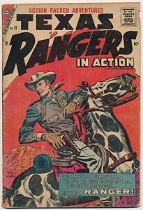 Texas Rangers in Action #10 Silver Age Western Comics November 1957 Charlton